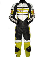 Suzuki Mud New Motorbike Racing Leather Suit Racing Motorcycle Cowhide Suit
