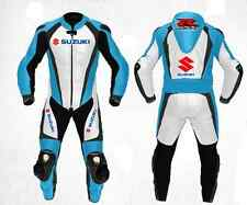 Suzuki All New Motorbike Racing Leather Suit Racing Motorcycle Cowhide Suit