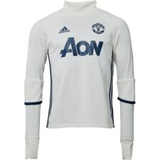 adidas Official Manchester United FC Training Top Men's- White/Navy