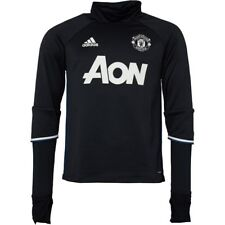 adidas Official Manchester United FC Training Top Men's- Black/Navy/White