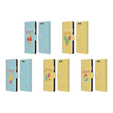 OFFICIAL MUY POP SUNNY SIDE UP MIX LEATHER BOOK WALLET CASE FOR HUAWEI PHONES