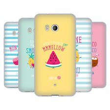 OFFICIAL MUY POP SUNNY SIDE UP FRUITS SOFT GEL CASE FOR HTC PHONES 1