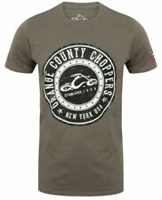 Power Circle OCC Orange County Choppers T-Shirt (Charcoal) - Official Stockist
