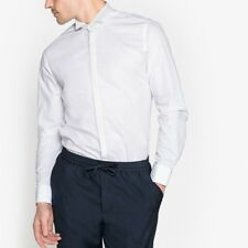 La Redoute Collections Mens Slim Fit Wing Collar Shirt