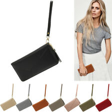 New Womens Designer Zip Around Purse Ladies Celebrity Style Faux Leather Wallets