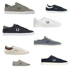 Fred Perry Gr. 40 - 46 Kingston Twill Underspin Sidespin Spencer Canvas Sneaker