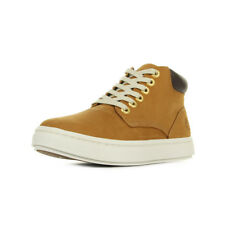 Chaussures Boots Timberland femme Chukka Wheat Nubuck taille Jaune Cuir Lacets