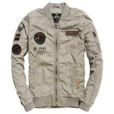 Superdry Rookie Duty Patch Bomber Blu , Giacche Superdry , moda