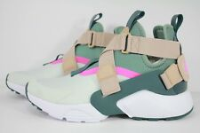 WMNS NIKE AIR HUARACHE CITY BARELY GREY/CLAY GREEN-SAND AH6787-005