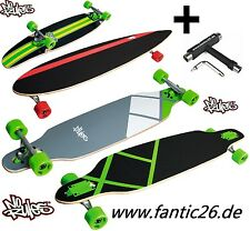 No-Rules Longboard DTS DROP throuhg INCROCIATORE + skatetool