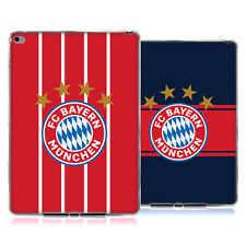 OFFICIAL FC BAYERN MUNICH 2017/18 LOGO KIT GEL CASE FOR APPLE SAMSUNG TABLETS