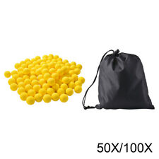 50/100x Round Refill Pack Replace Bullet Ball for Nerf Rival Apollo Zeus Toy Gun