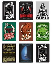 Genuine Lucasfilm Star Wars Fridge Magnet Gift Darth Vader Ackbar Yoda Boba Fett