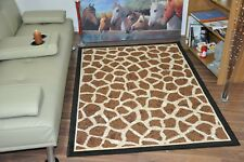 New Extra Large Modern Soft Giraffe Animal Print Area Rugs Carpet Mat Cheap Rug
