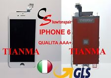 TIANMA TOUCH SCREEN VETRO LCD DISPLAY RETINA SCHERMO FRAME PER APPLE IPHONE 6 6G