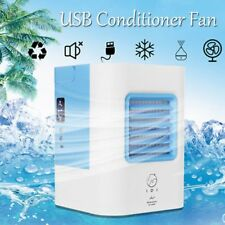 Portable Mini Air Conditioner  Air Cooler Fan Humidifier Cooler USB Charging AG