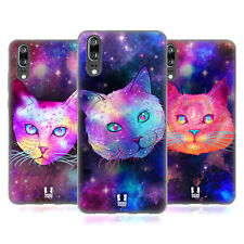 HEAD CASE DESIGNS GALAXY CATS SOFT GEL CASE FOR HUAWEI PHONES