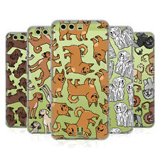 HEAD CASE DESIGNS DOG BREED PATTERNS 18 SOFT GEL CASE FOR HUAWEI PHONES