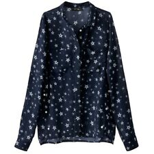 La Redoute Collections Womens Star Print Shirt Br