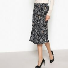 La Redoute Collections Womens Printed Midi Skirt