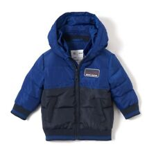 La Redoute Collections Boy Twotone Hooded Padded Jacket, 1 Mth3 Years