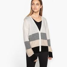 La Redoute Collections Womens Striped Cardigan