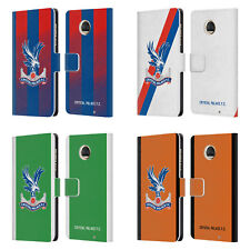 CRYSTAL PALACE FC 2018/19 PLAYERS KIT LEATHER BOOK CASE FOR MOTOROLA PHONES