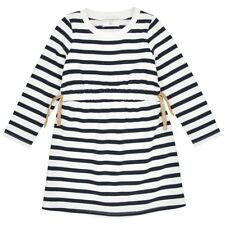 La Redoute Collections Girl Striped Dress With Gathered Dress, 312 Years
