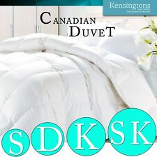 Goose Feather and Down Duvet Canadian Luxurious Hotel Quality Comforter Quilt