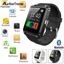 Smart Wrist Watch Phone Bluetooth Mate For IOS  Android iPhone Samsung HTC - UK