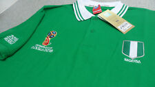 Official FIFA World Cup Russia 2018 Nigeria Men's Polo Shirts (Embroidered Logo)