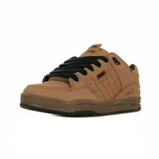 """Chaussures Skate Globe homme Fusion """"Tobacco Brown"""" taille Marron Cuir Lacets"""