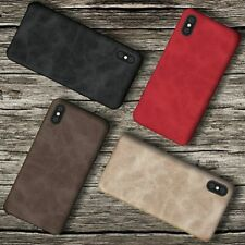 Case Cover For iPhone X 8 7 6 6S Plus Luxury Ultra Thin Leather Back Skin