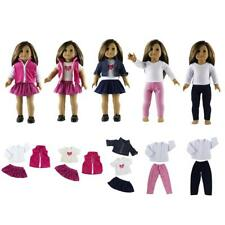 Clothes For 18'' American Girl My Life Our Generation Doll Dress Jeans Shirt Acc
