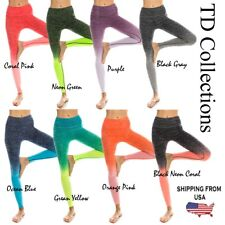ladies sports yoga workout gym running leggings pants jumpsuit athletic clothes