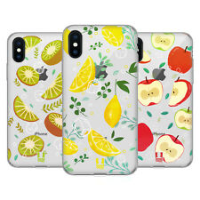 HEAD CASE DESIGNS FRUITY REFRESHMENTS SOFT GEL CASE FOR APPLE iPHONE PHONES