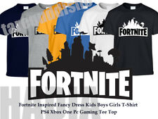 Fortnite Inspired Fancy Dress Kids Boys Girls T Shirt PS4 Xbox One Pc Gaming Tee