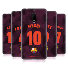 OFFICIAL FC BARCELONA 2017/18 PLAYERS THIRD KIT 1 GEL CASE FOR NOKIA PHONES 1