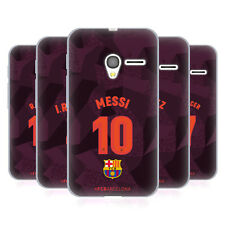OFFICIAL FC BARCELONA 2017/18 PLAYERS THIRD KIT 1 GEL CASE FOR ALCATEL PHONES
