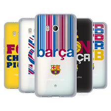 OFFICIAL FC BARCELONA 2017/18 CAMPIONS SOFT GEL CASE FOR HTC PHONES 1
