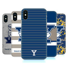 OFFICIAL YALE UNIVERSITY 2018/19 PATTERNS HARD BACK CASE FOR APPLE iPHONE PHONES