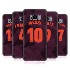 OFFICIAL FC BARCELONA 2017/18 PLAYERS THIRD KIT 1 GEL CASE FOR SAMSUNG PHONES 1