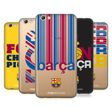 OFFICIAL FC BARCELONA 2017/18 CAMPIONS SOFT GEL CASE FOR OPPO PHONES