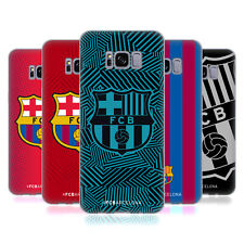 OFFICIAL FC BARCELONA 2017/18 CREST SOFT GEL CASE FOR SAMSUNG PHONES 1