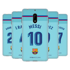 OFFICIAL FC BARCELONA 2017/18 PLAYERS AWAY KIT 1 GEL CASE FOR NOKIA PHONES 1