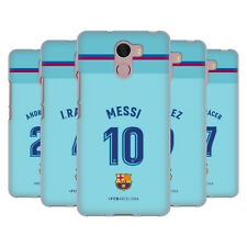 OFFICIAL FC BARCELONA 2017/18 PLAYERS AWAY KIT 1 GEL CASE FOR WILEYFOX PHONES