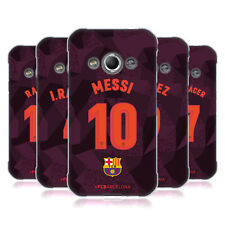 OFFICIAL FC BARCELONA 2017/18 PLAYERS THIRD KIT 1 GEL CASE FOR SAMSUNG PHONES 4