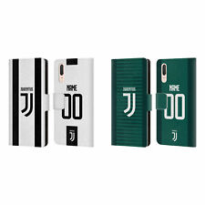 CUSTOM JUVENTUS FC 2018/19 RACE KIT LEATHER BOOK WALLET CASE FOR HUAWEI PHONES
