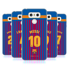 OFFICIAL FC BARCELONA 2017/18 PLAYERS HOME KIT GROUP 1 GEL CASE FOR LG PHONES 1