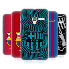OFFICIAL FC BARCELONA 2017/18 CREST SOFT GEL CASE FOR ALCATEL PHONES